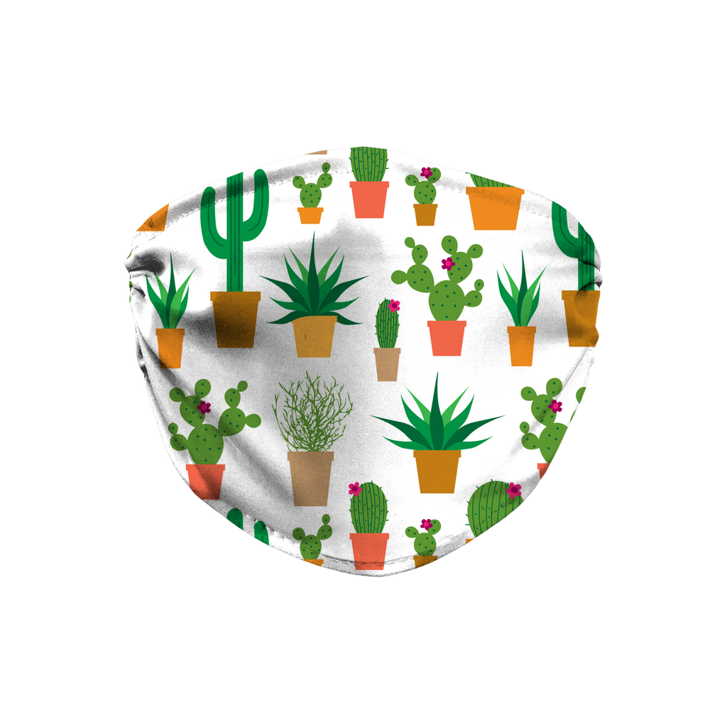 Cactus Pattern 1  Face Mask