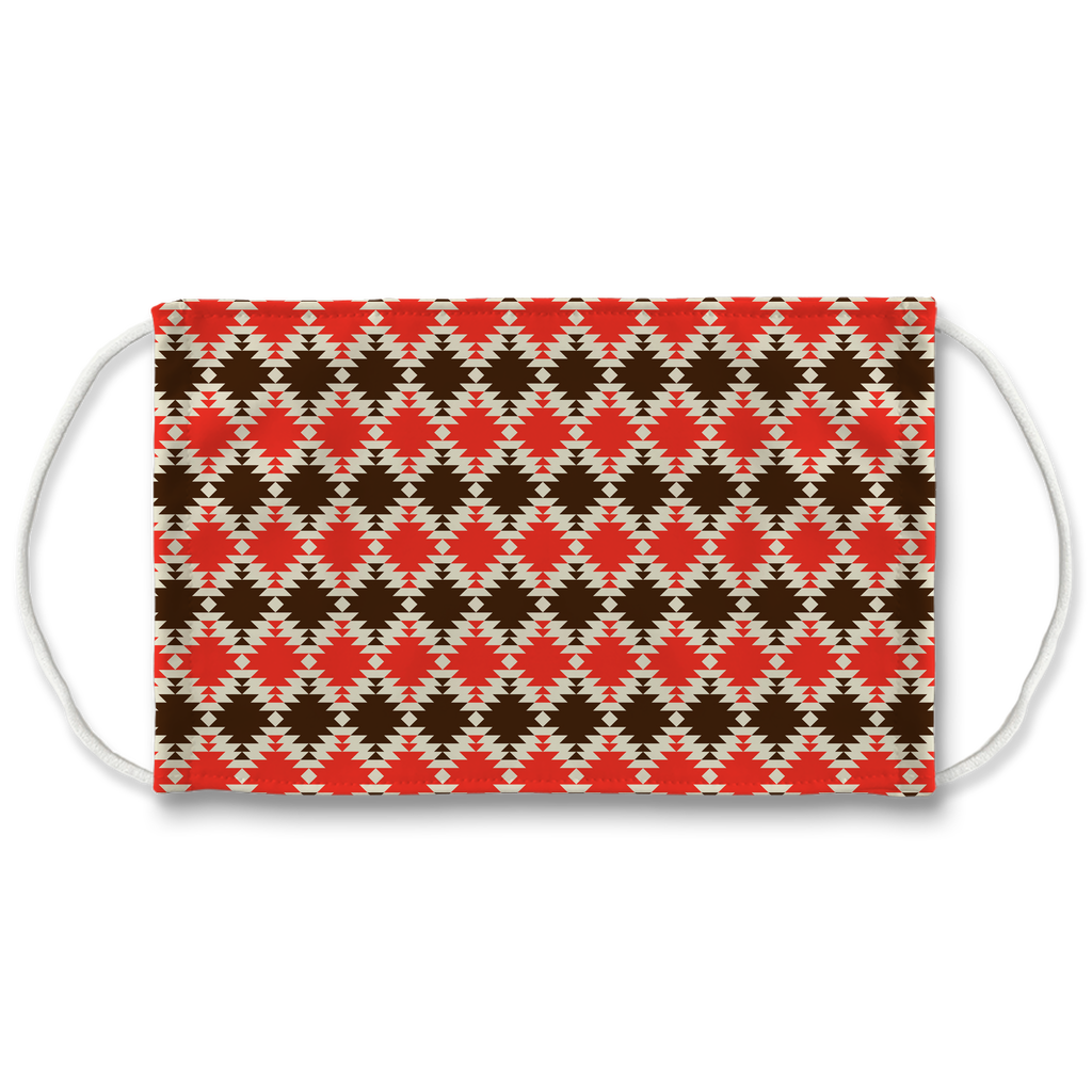 Native American Pattern 14  Face Mask