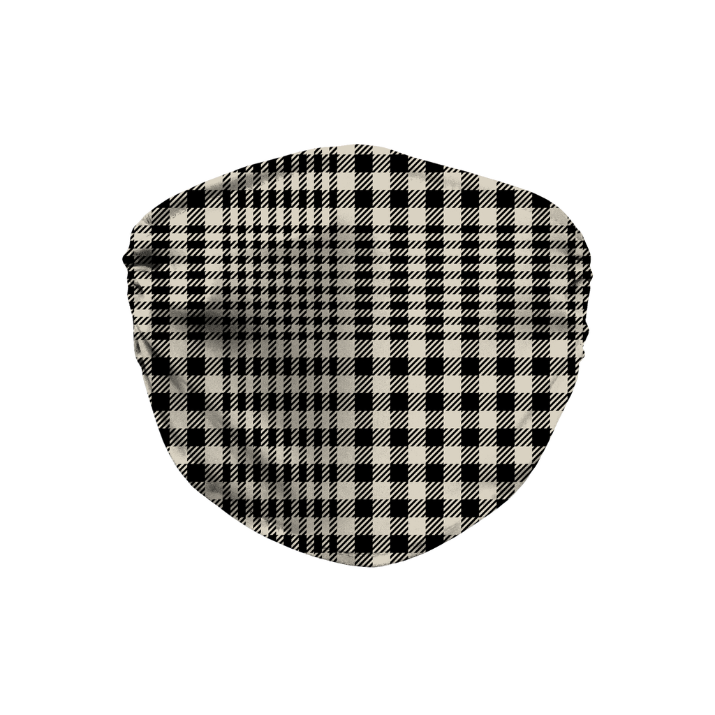 Glen Plaid 7  Face Mask