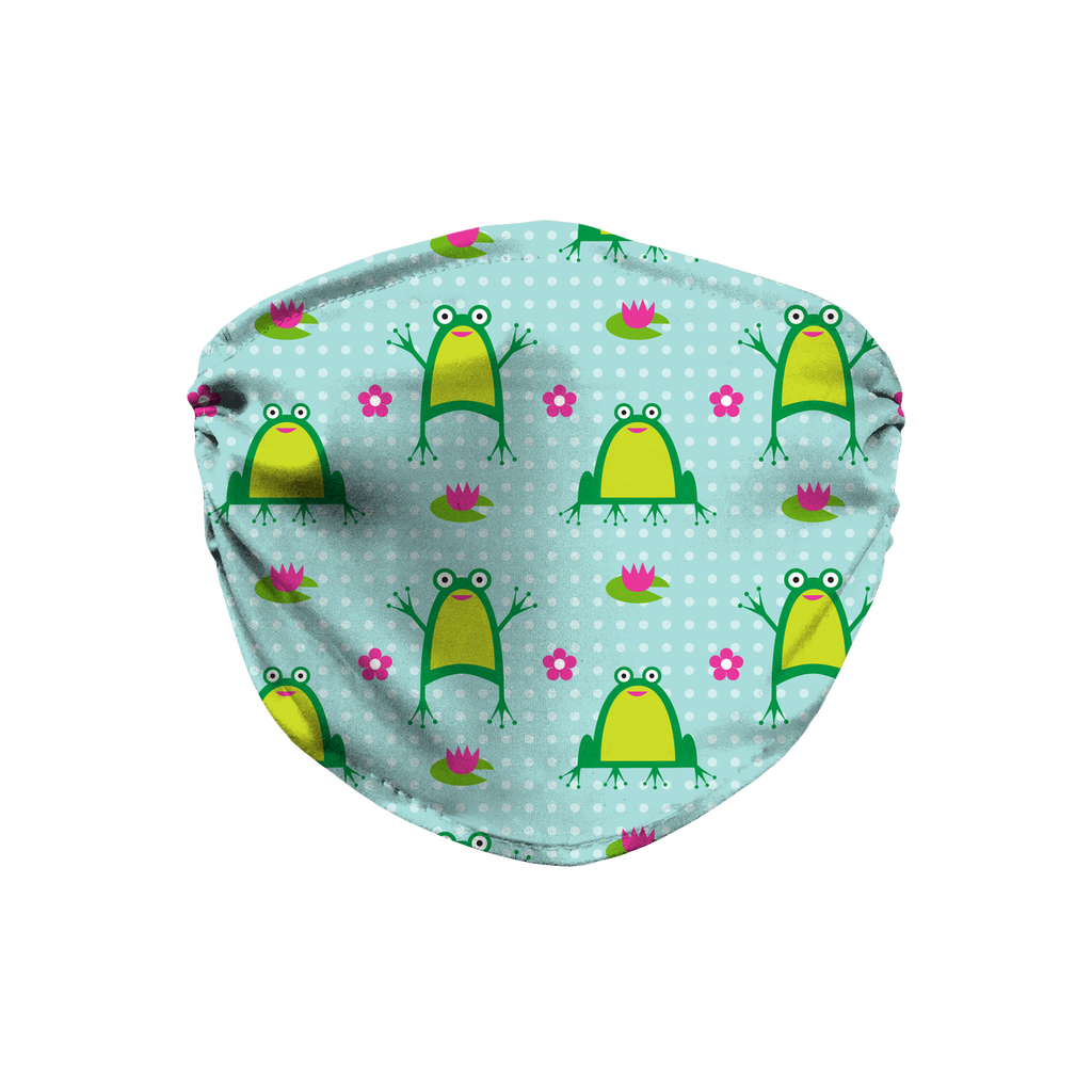 Frog Pattern 1  Face Mask