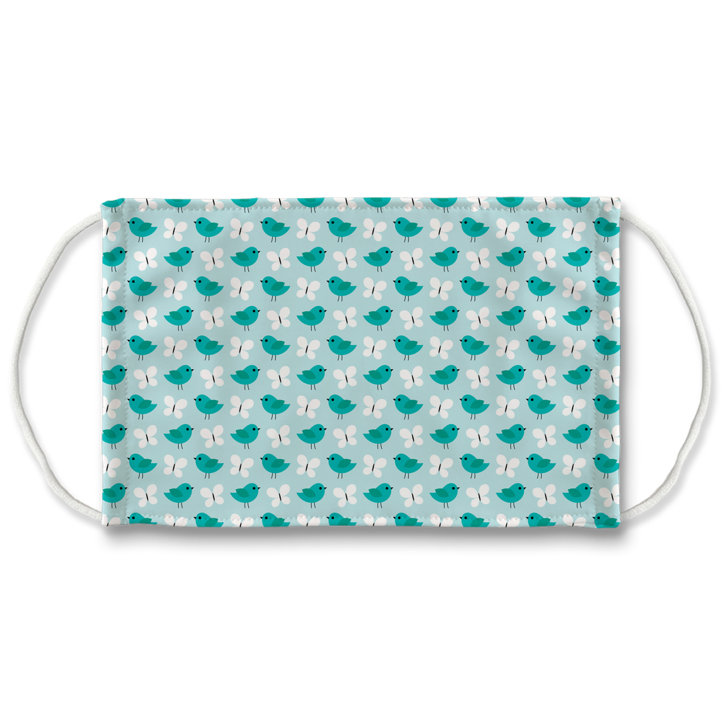 Bird Butterfly Pattern 3  Face Mask