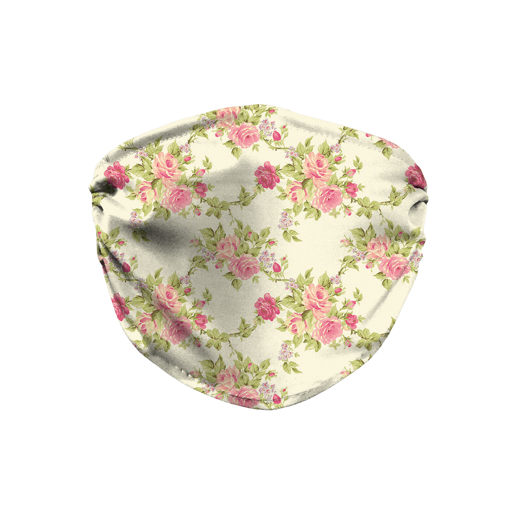 Floral pattern 10  Face Mask