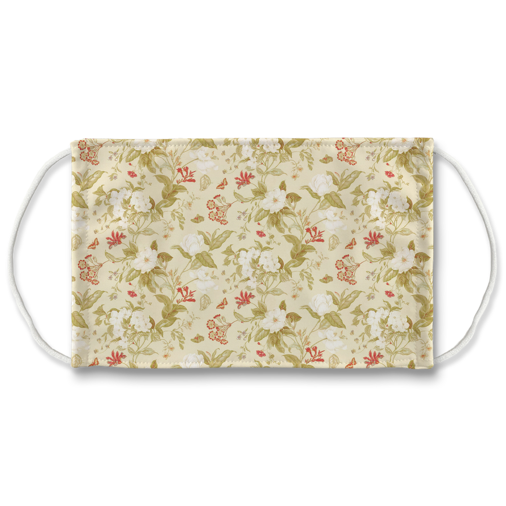 Floral pattern 17  Face Mask