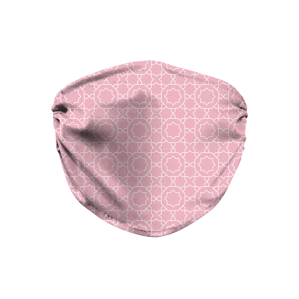 Pastel Moroccan Pattern 4  Face Mask