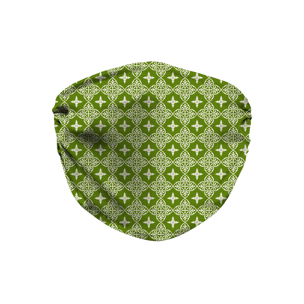 Woodland Pattern 12  Face Mask