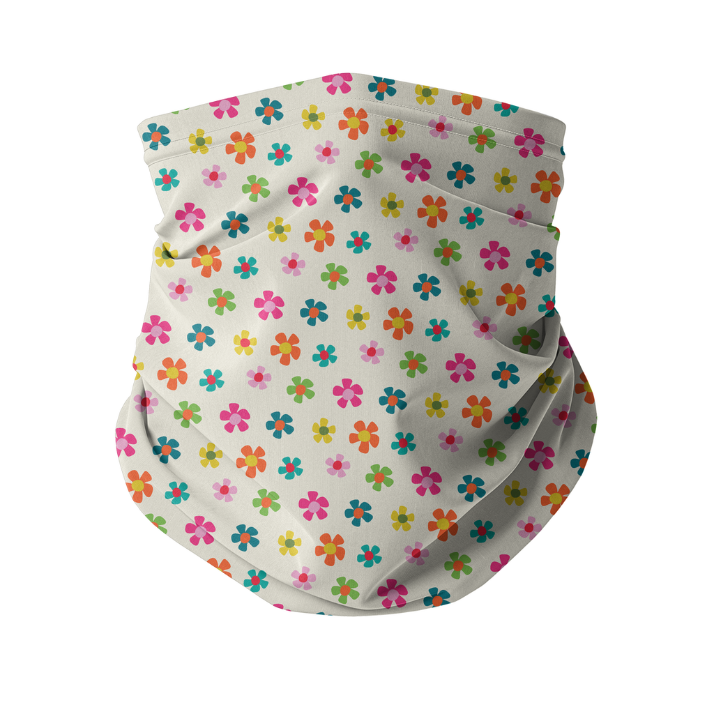 Flowers and Birds Neck gaiter 8 Sublimation Neck Gaiter