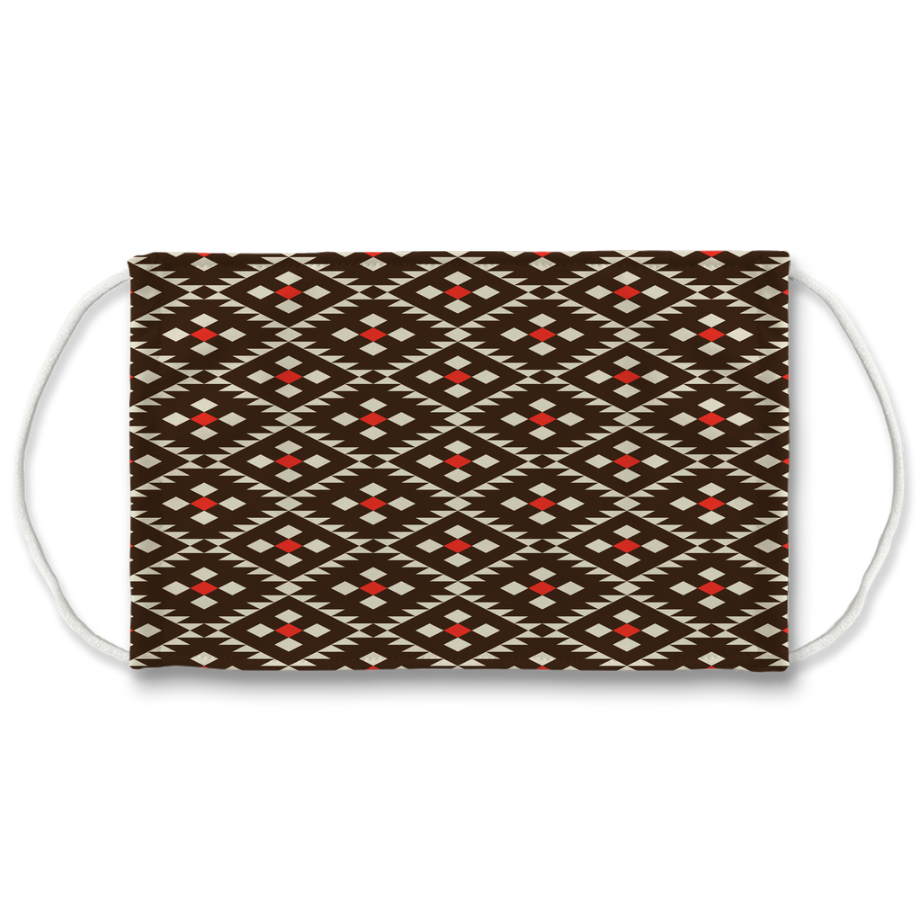 Native American Pattern 17  Face Mask