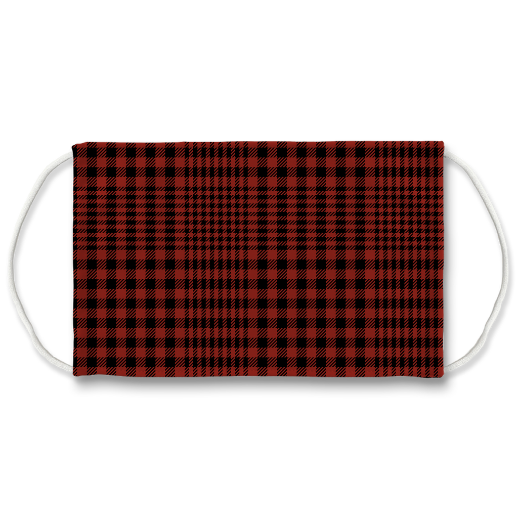 Glen Plaid 1  Face Mask