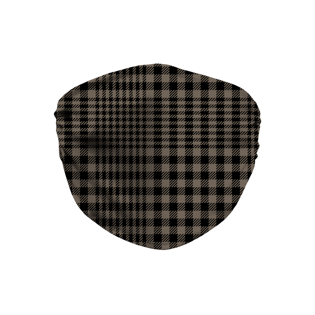 Glen Plaid 8  Face Mask