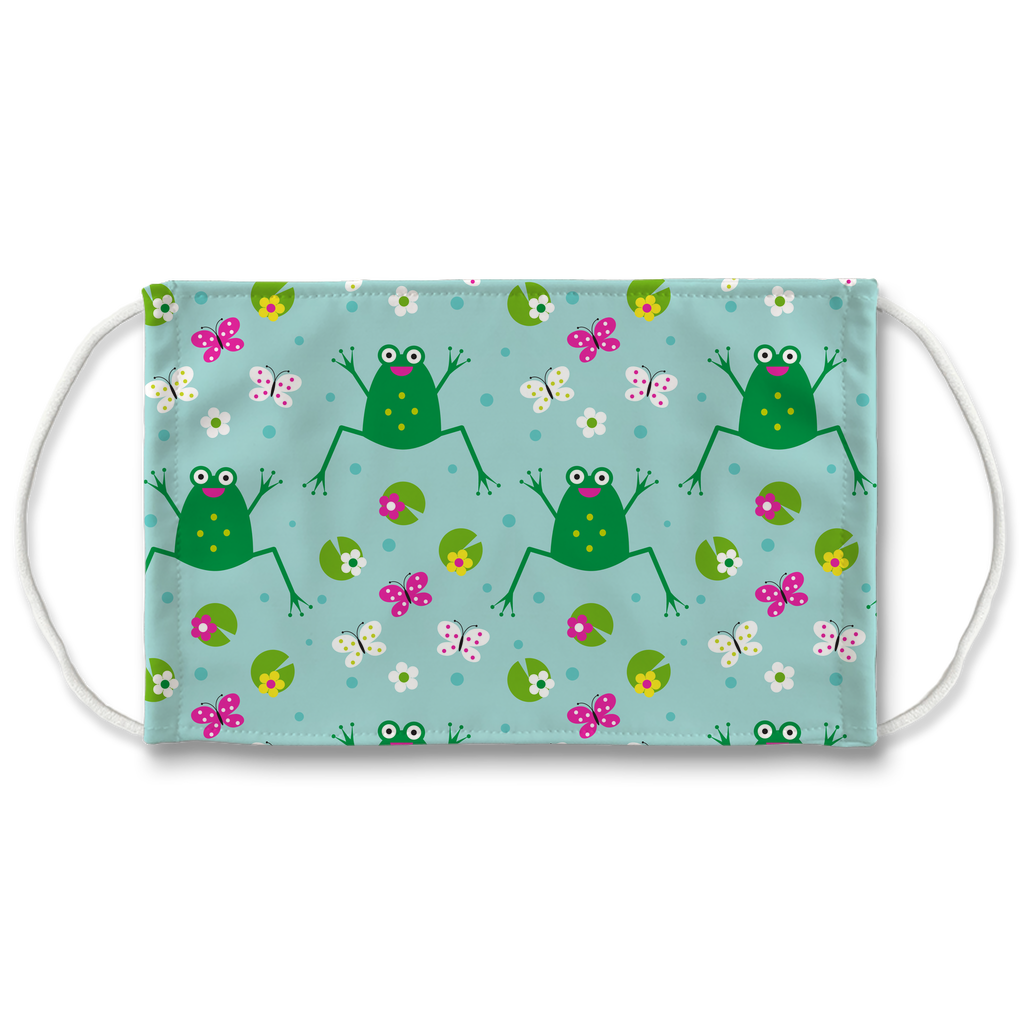 Frog Pattern 9  Face Mask