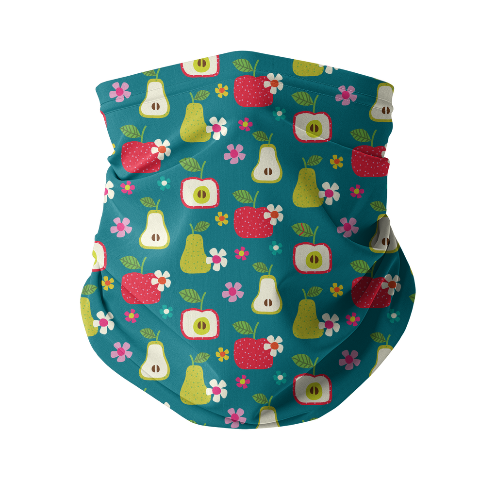 Flowers and Birds Neck gaiter 2 Sublimation Neck Gaiter