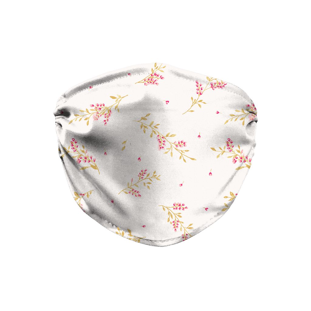 Floral pattern 20  Face Mask
