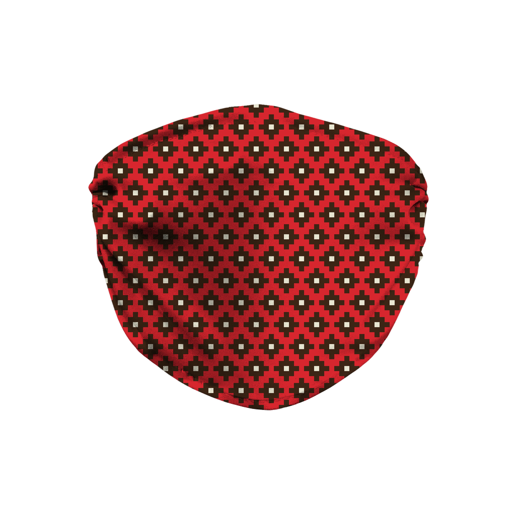 Native American Pattern 16  Face Mask