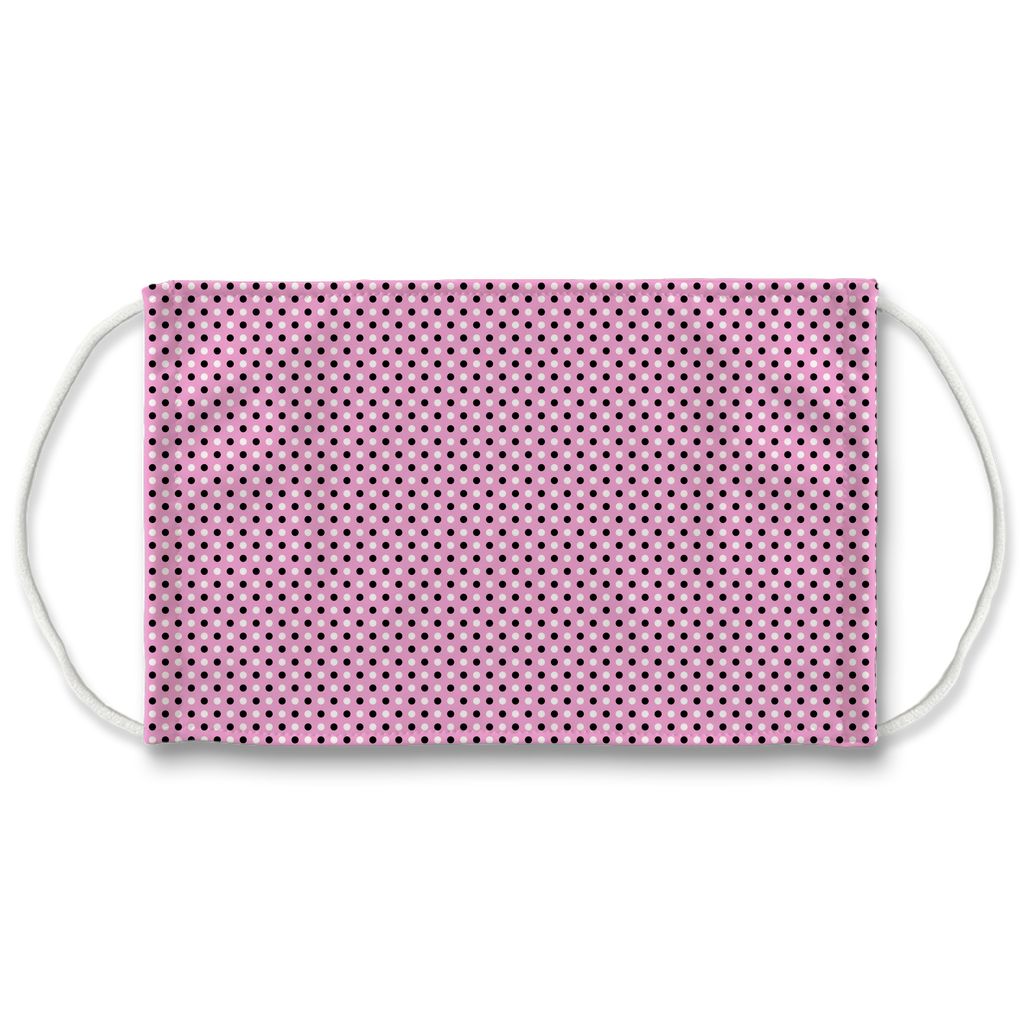 Pink Bandana Pattern 2  Face Mask