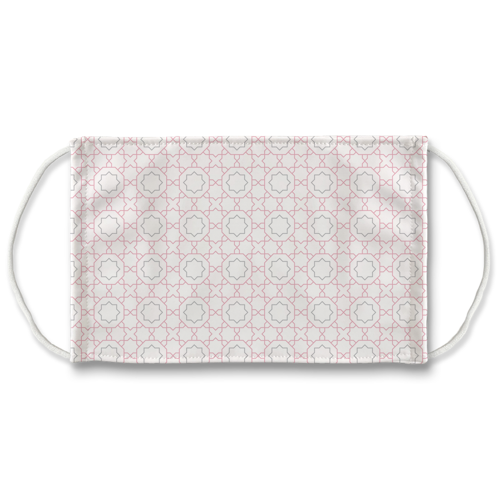 Pastel Moroccan Pattern 3  Face Mask