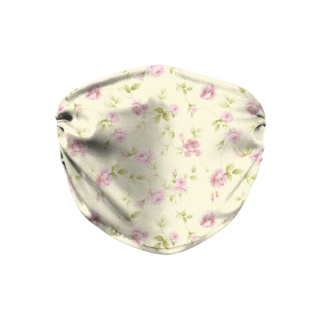 Floral pattern 1  Face Mask