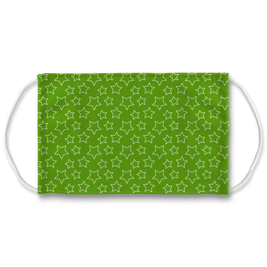 Outline Star Pattern 1  Face Mask