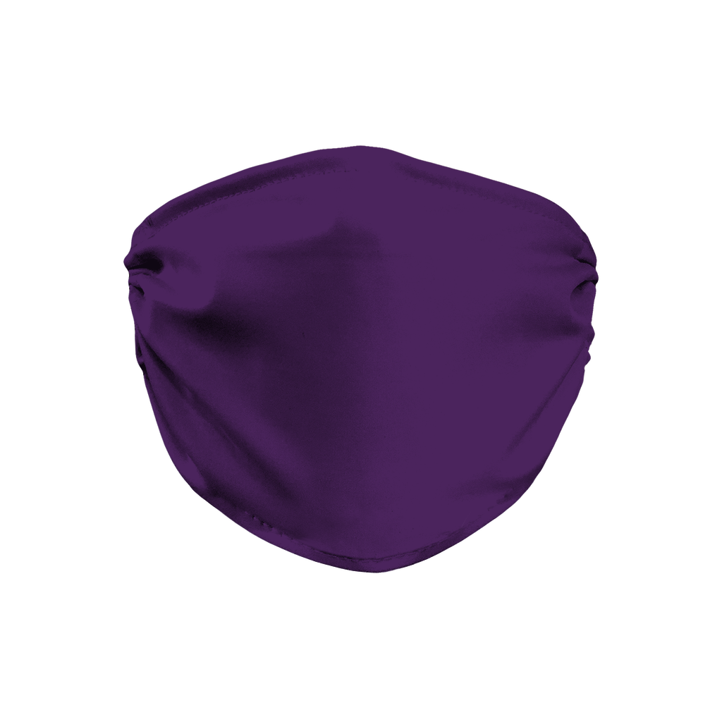 Solid color Purple  Face Mask