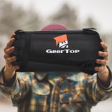 GeerTop Ultralight Camping Sleeping Bag Down Filled Waterproof - Sleeping Bag