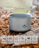 Naturehike Titanium 2-3 Persons Tableware Outdoor Picnic Cookware - Camping