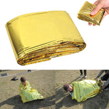 Waterproof Emergency Mat Survival Rescue Blanket Foil Thermal - Keep Warm