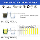 304 Stainless Steel Water Filter PVDF Ultrafiltration Purifier Home Kitchen Drink Straight UF Filters - Water Cleaner
