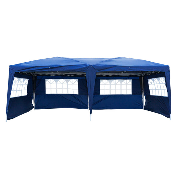 3 x 6m Waterproof Folding Tent Party Canopy Pop Up Instant Shelter - Tent