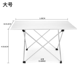 High Quality Outdoor Camping Aluminum Folding  - Table