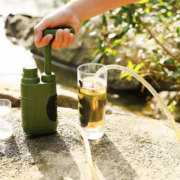 Outdoor Water Purifier Emergency Life Survival Portable - Water Purifier