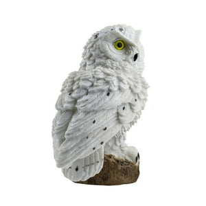 Owl Solar Light With Solar LED Panel Fake Owl Waterproof - Pets