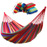 Double Wide Thick Canvas Hammock - Garden & House - YourProStore outdoor survival garden house