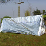 210*130CM Waterproof Disposable Emergency Rescue Space Therm Foil - Keep Warm