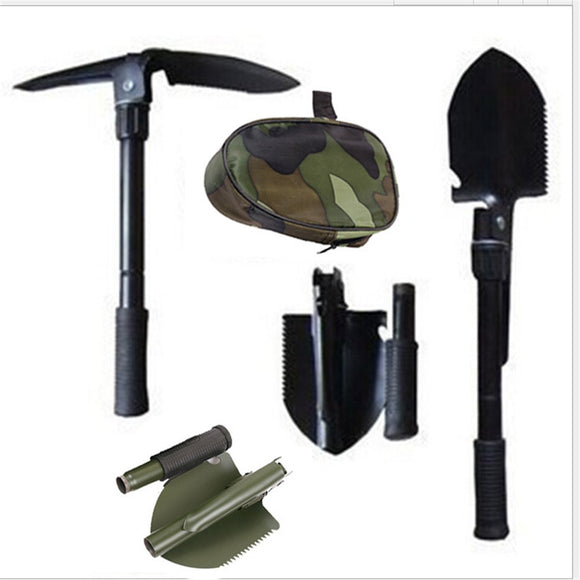 Multi Function Shovels Open Bottle Digging Mud Cut Tree Shovel - Outdoor - YourProStore outdoor survival garden house