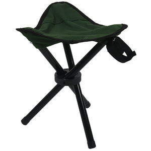 Folding Tripod Stool Portable Camping Seat - Outdoor - YourProStore outdoor survival garden house