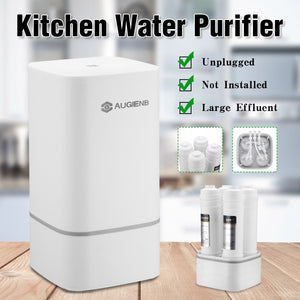 4 Stage Countertop RO Water Purifier Membrane Reverse Water Filter System - Water Cleaner