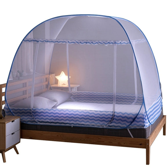 Portable Automatic Pop Up Mosquito Net Installation - Mosquito Net
