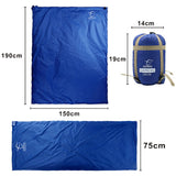 Outdoor Envelope Sleeping Bag Mini Ultralight Nylon 190 * 75cm - Sleeping Bag