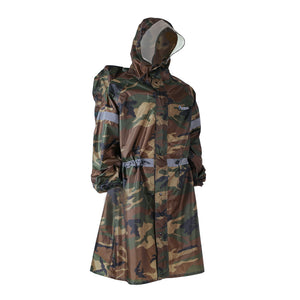 BlueField Outdoor Raincoat Backpack Cover - Jacket