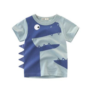 2020 Handsome Short Sleeves Cotton Summer - Kids