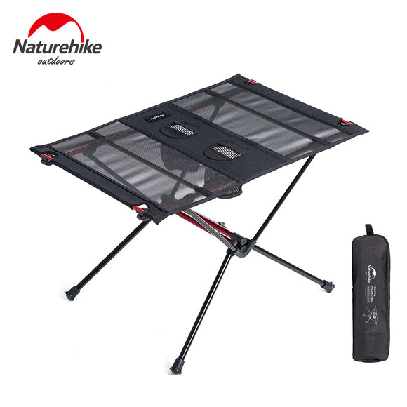 Naturehike Outdoor Portable Ultralight Aluminium Roll Up Picnic - Table