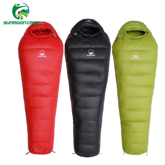 Winter Ultralight Thermal Adult Mummy 95% White Goose Down - Sleeping Bag