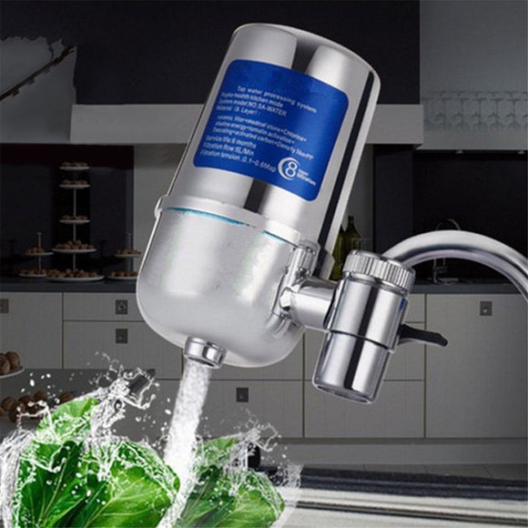 8 Layer Ceramic Faucet Filter Water Purifier - Water Cleaner