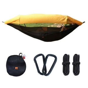 1-2 Person Portable Hammock High Strength - Mosquito Net