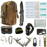11 in 1 First aid EDC Emergency Survival Kit Set - Survival Kit