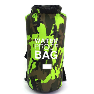 Rafting Diving Dry Bag/Sack Camouflage Waterproof - Backpack