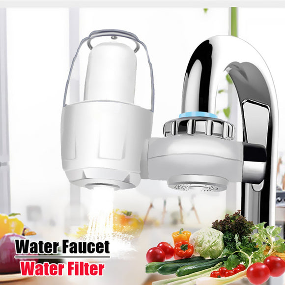 Kitchen Water Faucets Filter Washable Ceramic Tap Water Purifier - Water Cleaner