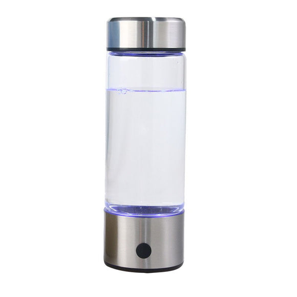 Titanium Quality Hydrogen-Rich Water Cup Ionizer Bottle 420ml - Water Cleaner