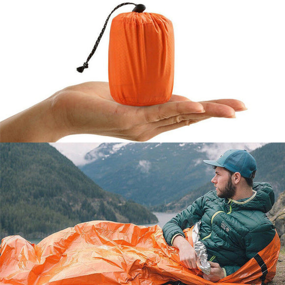 1 pcs Thermal Emergency Sleeping Bag Blanket - Keep Warm