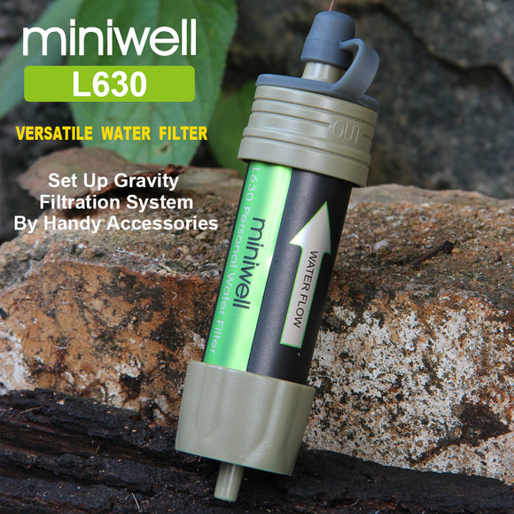 Miniwell Outdoor Water Filter - Water Cleaner