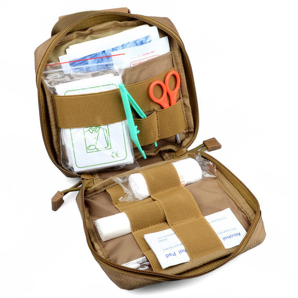 MOLLE EMT First Aid Kit Survival Bag - First Aid Kit
